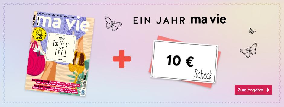 ma vie - Countdown 0421 - Jahresabo + 10 € Scheck - Stufe 2 09.08.